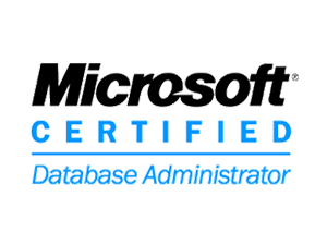 MS Certified Database Administrator